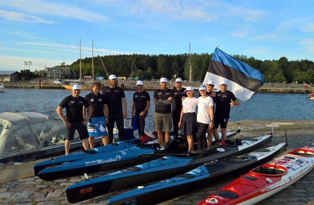 Eesti aerutajad teevad ajalugu