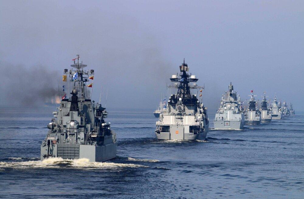 Vene merevägi alustab täna Läänemerel suurõppust