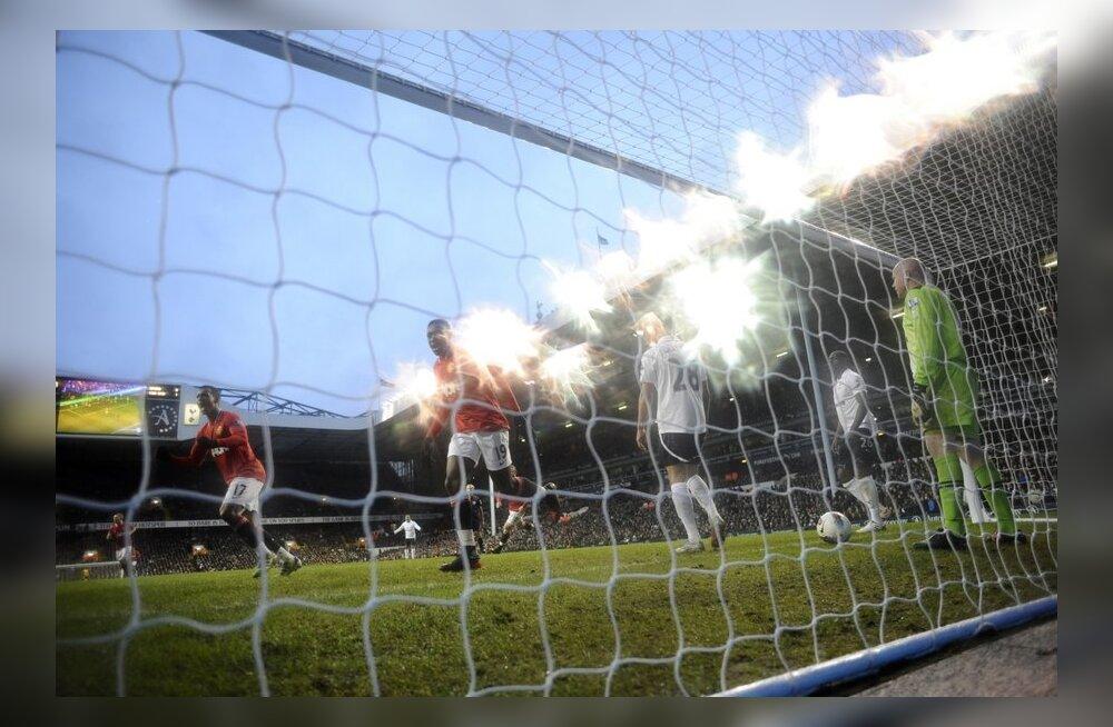 Manchester United kustutas Tottenhami tiitlilootused