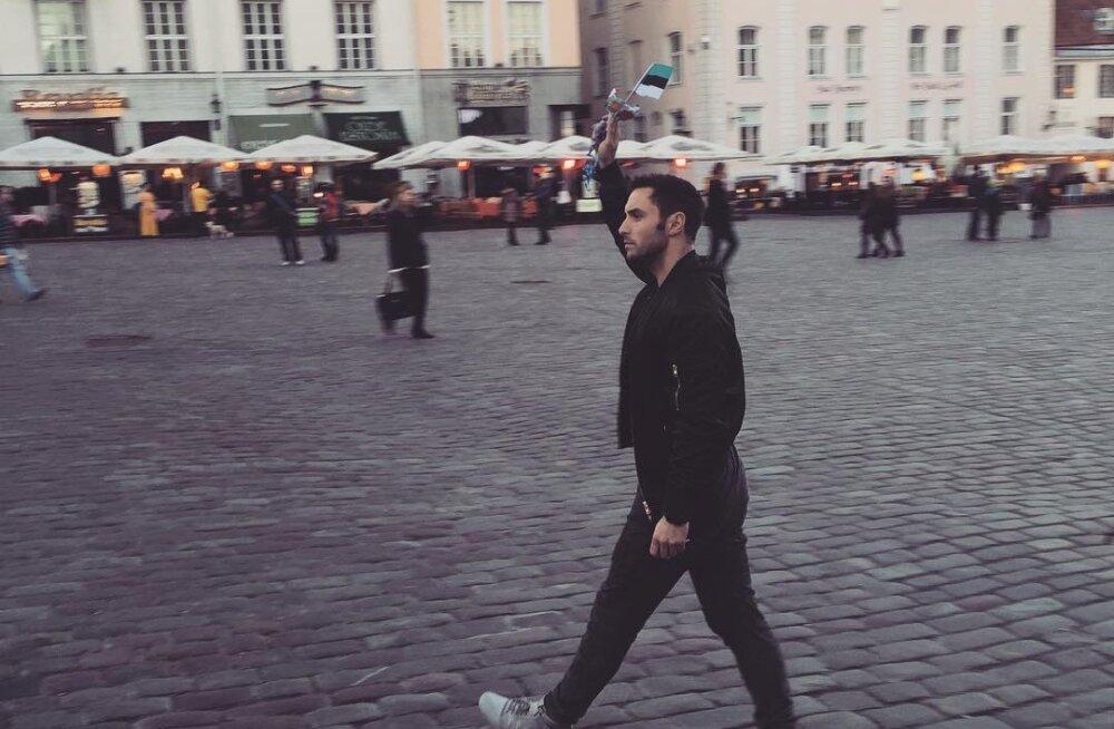 PÄEV PUBLIKUGA: Eurovisioni võitja Måns Zelmerlöw vallutas üheks õhtuks Publiku Instagrami ja näitas tuuri köögipoolt