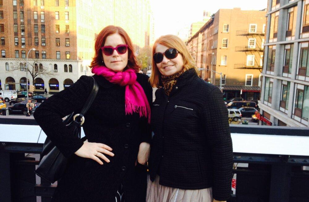 Sirje Eesmaa ja Annely Adermann New Yorgis: 200 dollarit maksvad praemunad ja soojaandev kvaliteetne kultuur