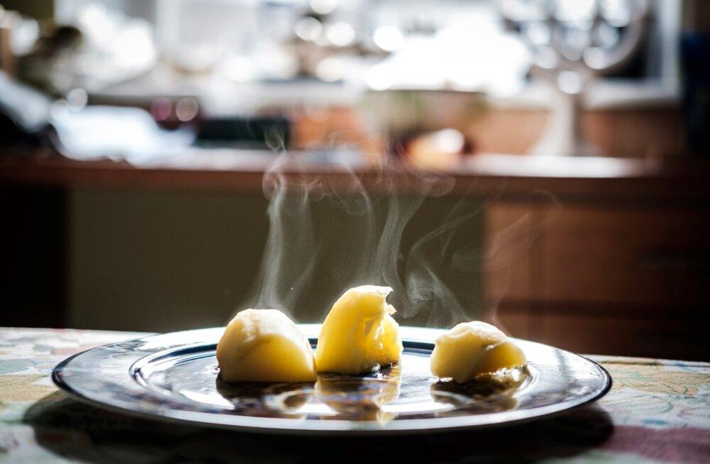 Keedetud kartul