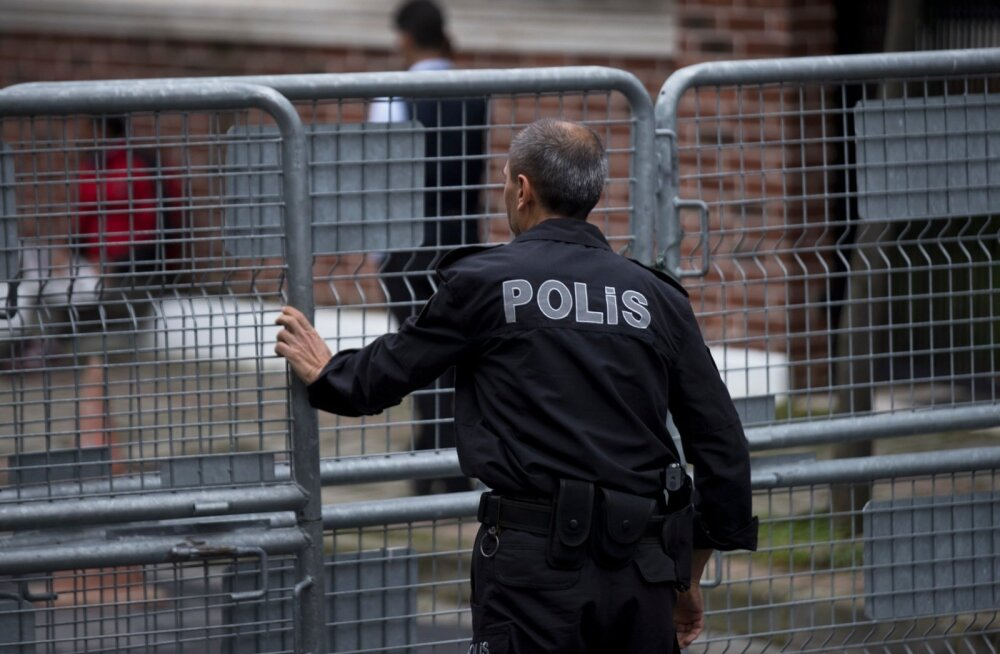 Kohalik telejaam: Türgi otsib täna läbi Saudi Araabia konsulaadi Istanbulis