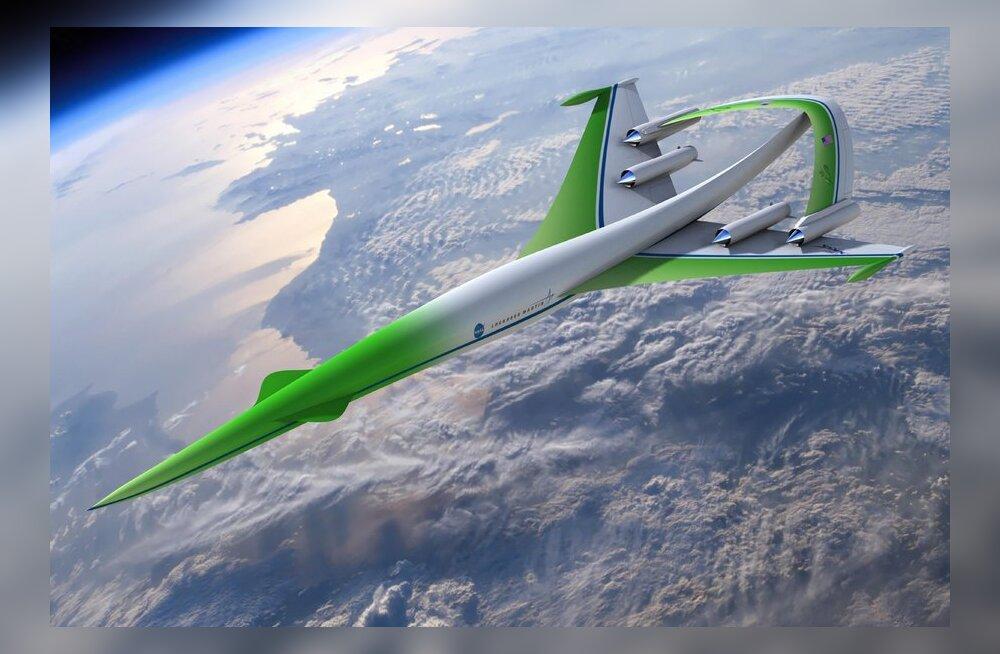 Ülehelikiirusega Roheline Masin - sõjalennukite tootja kosib tsiviliste