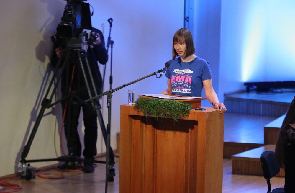 President Kaljulaid: iga ema tahab, et tema ema olemise tööd nähtaks