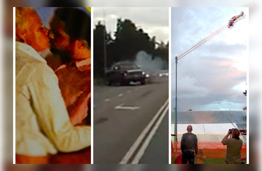 TOP 10: Saatuslik suudlus, liiklusraev, Guinnessi rekord... Need olid Delfi TV aasta enimvaadatud videod!