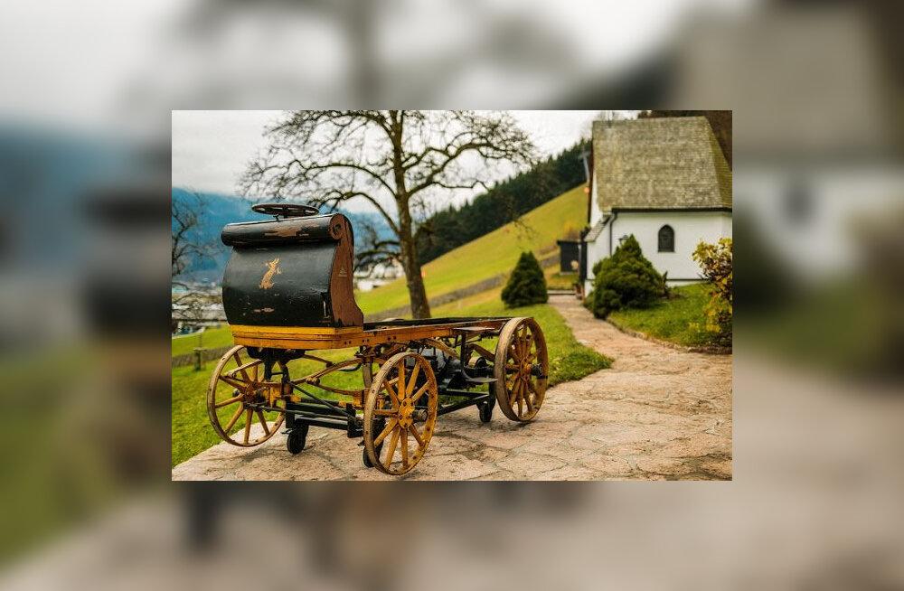 Auto vedeles garaažis 112 aastat. history.com