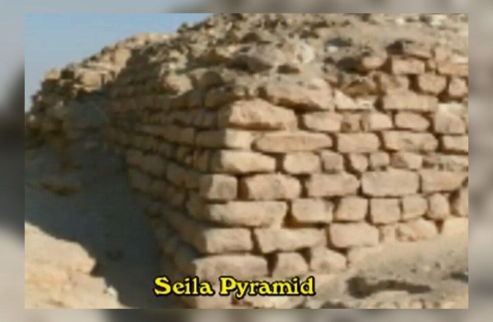 Egiptusest leiti püramiid, mille ümber oli maetud lapsi
