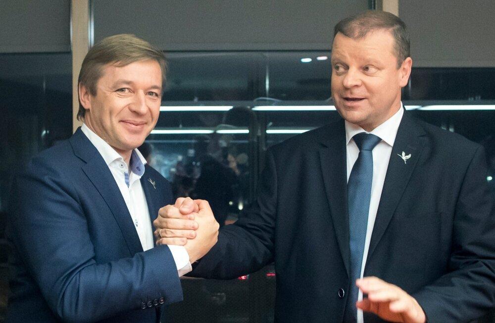 Leedu parlamendivalimised võitis talupidajate ja roheliste liit, peaministriks võib saada parteitu