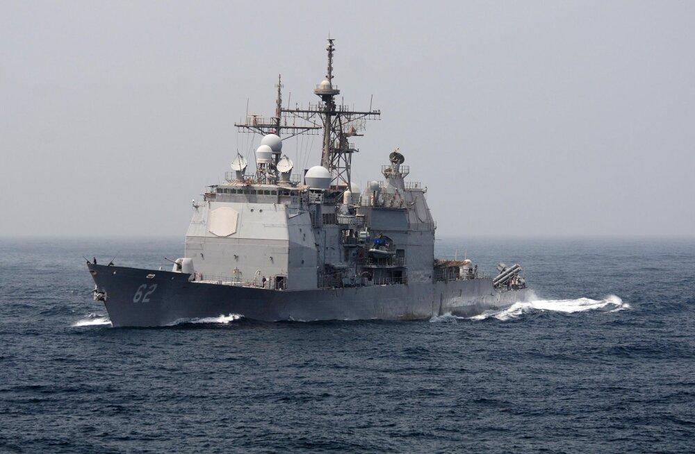 Vene ja USA sõjalaevad pääsesid Ida-Hiina merel napilt kokkupõrkest