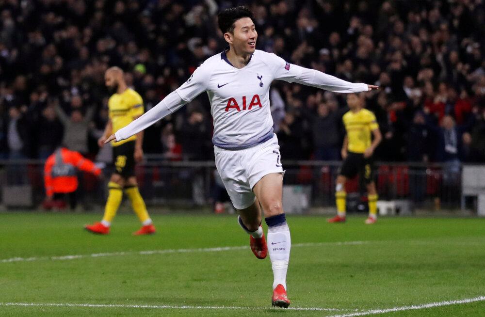 4b97956d224 BLOGI | Meistrite liiga: Tottenham purustas Bundesliga liidri, Real ...