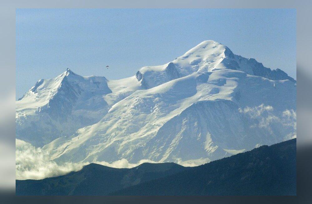 Mont Blanci laviinis hukkus üheksa mägironijat