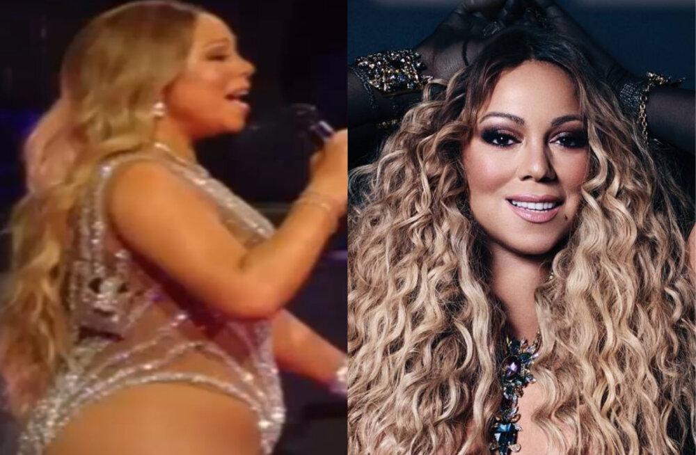 FOTO | Fännid pettunud! Popstaar Mariah Carey lasi väidetavalt enda keha ajakirjakaanel kõvasti kõhnemaks töödelda