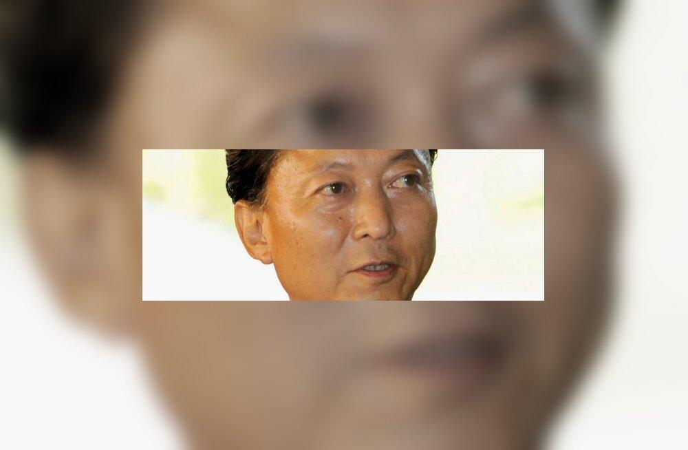 Yukio Hatoyama valiti Jaapani peaministriks