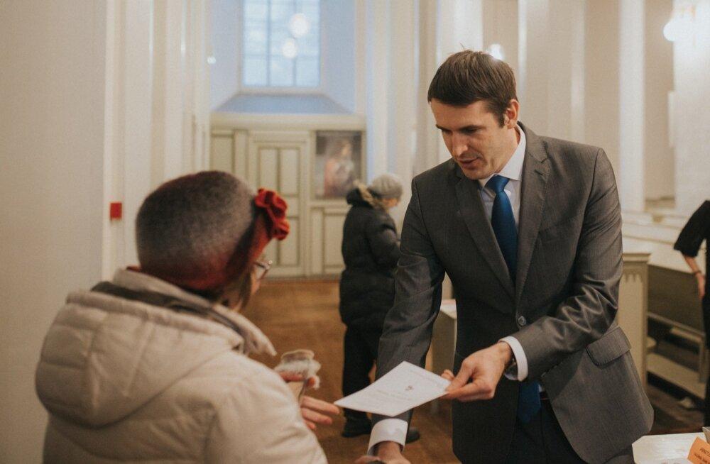 Rainer Vakra Jaani kiriku advendikontserdil