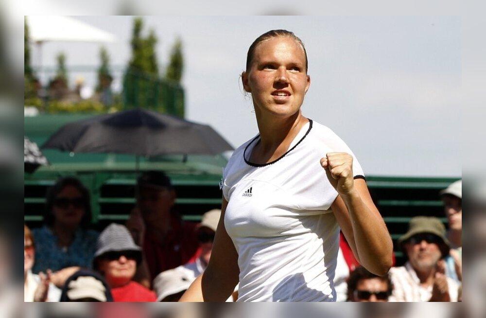 VÕIMAS: Kanepi võitis Wimbledonis maailma kuuenda reketi!