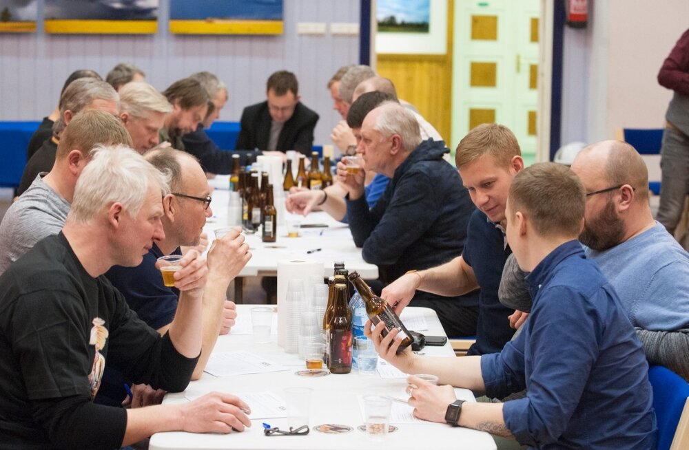 Maarahva kuues õllekonkurss Hää õlu 2019 Kadrinas