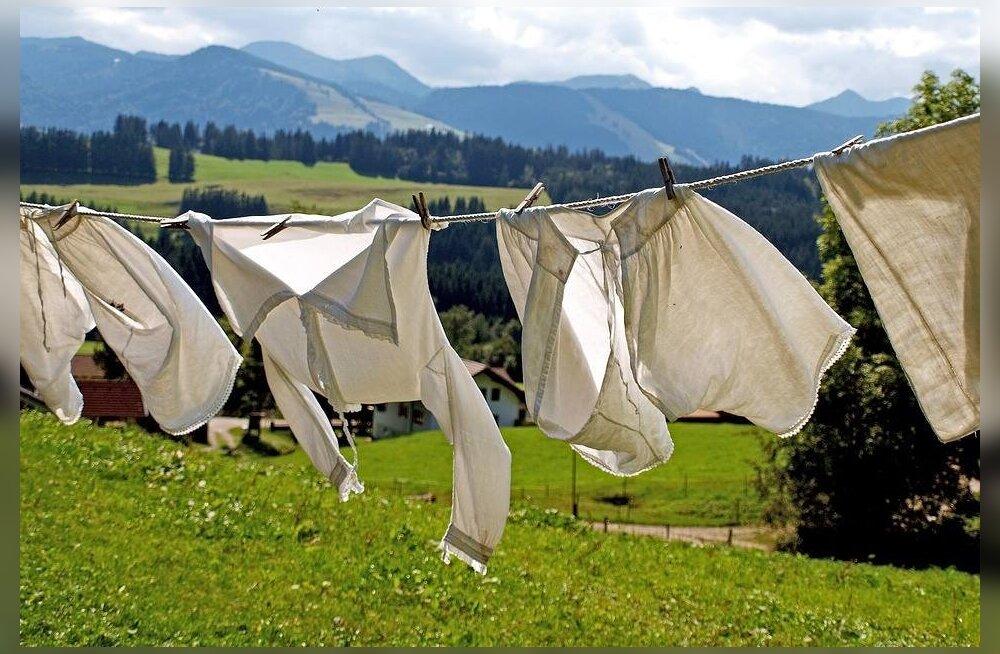 Kasutatud riided võiks enne selgapanemist energeetiliselt puhastada