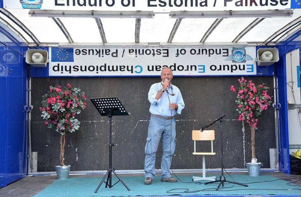 FIM Euroopa endurokomisjoni esimees Marco Bolzonello