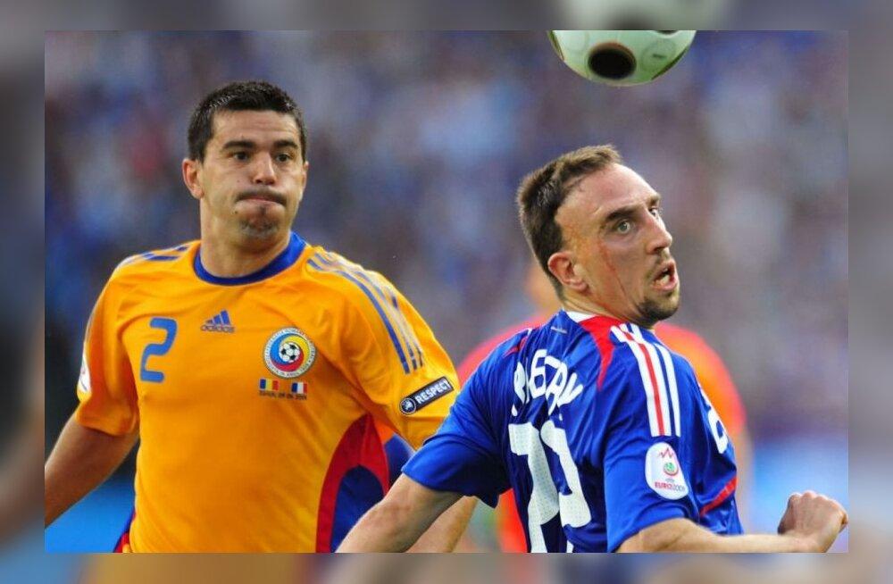 Cosmin Contra ja Franck Ribery