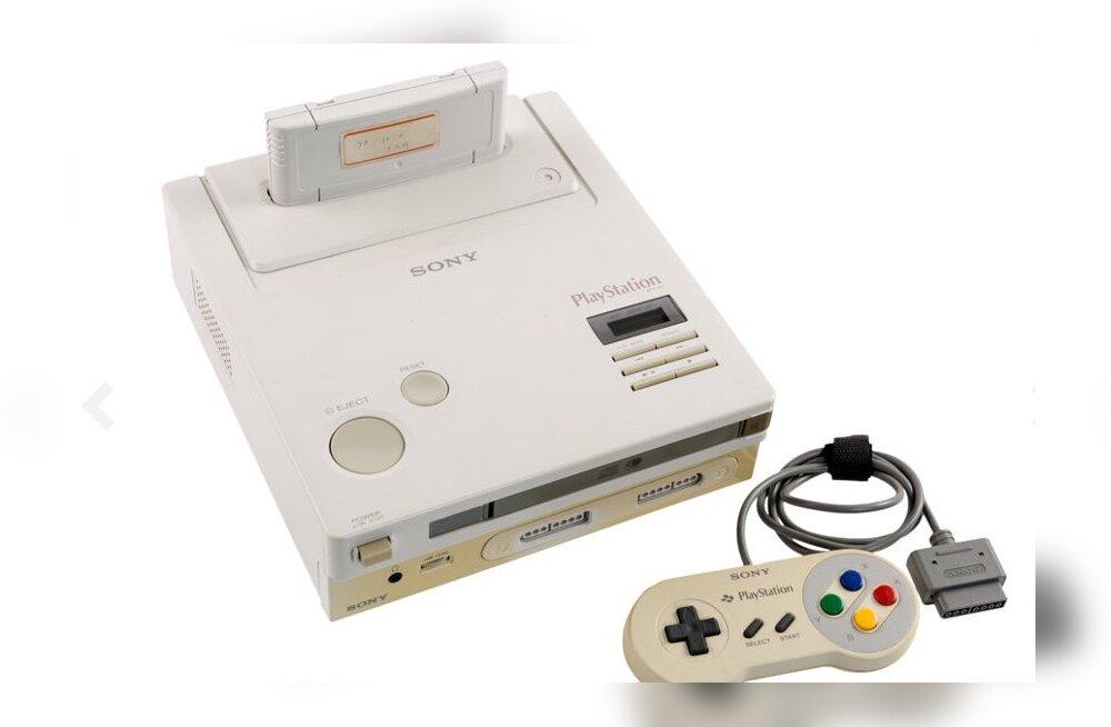 Legendaarne mänguseade Nintendo PlayStation maksab ainult natuke üle 320 000 euro