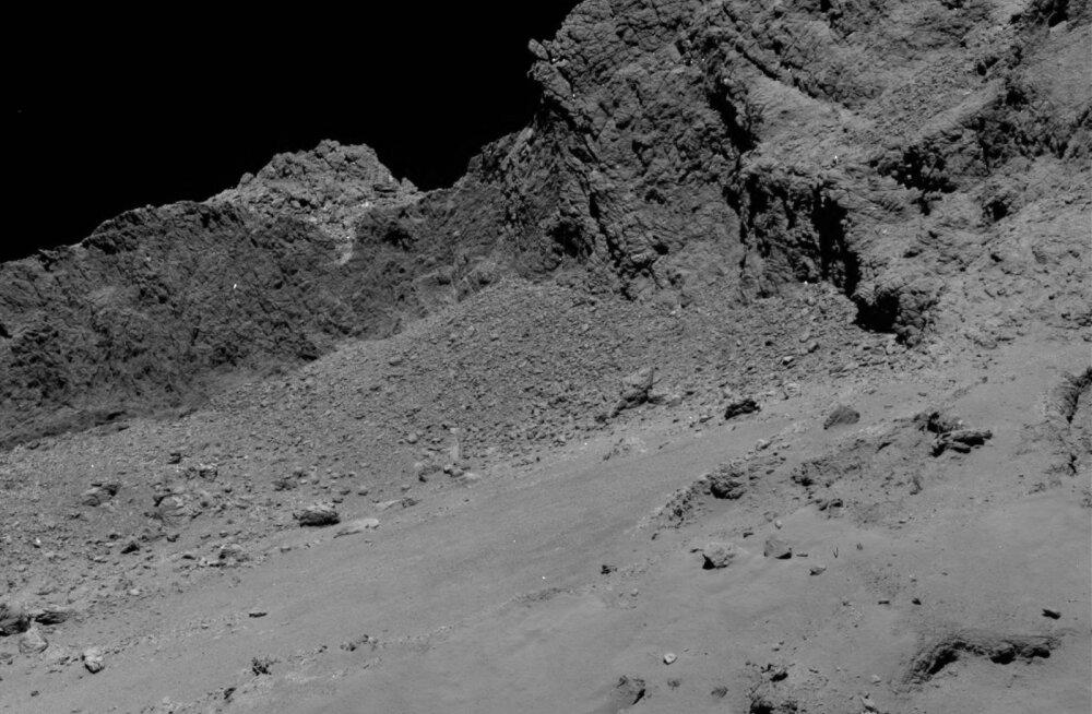 VIDEO | Vaata, mis toimub ühe komeedi pinnal