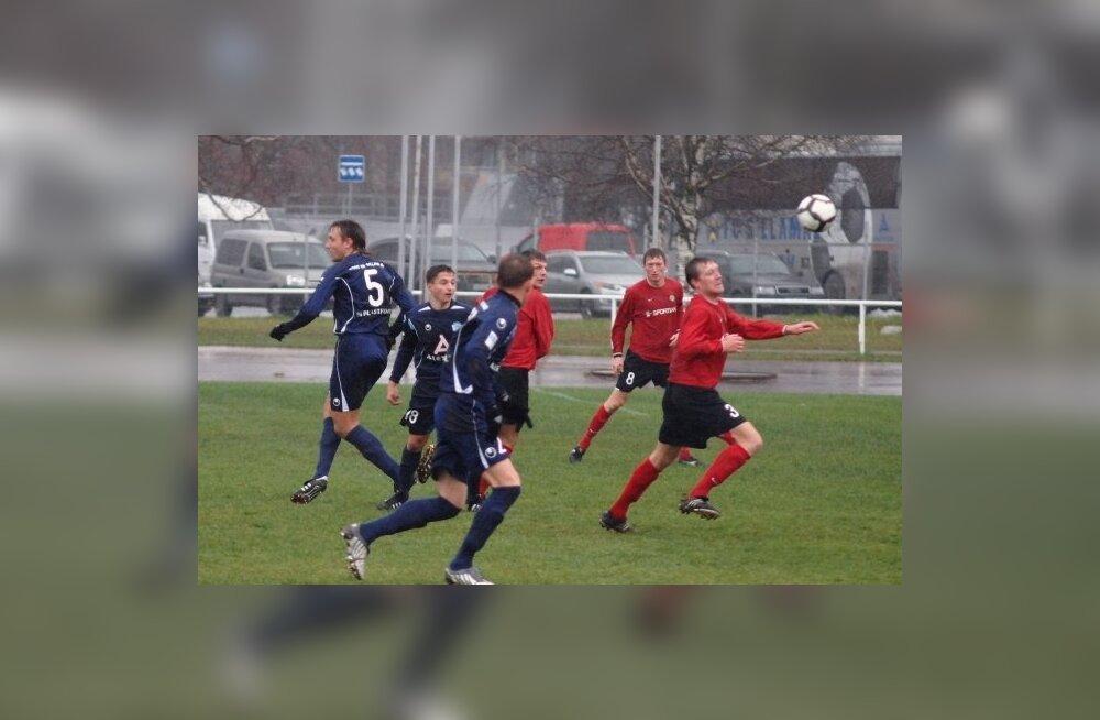 Täna selguvad Eesti jalgpallikarikavõistluste finalistid