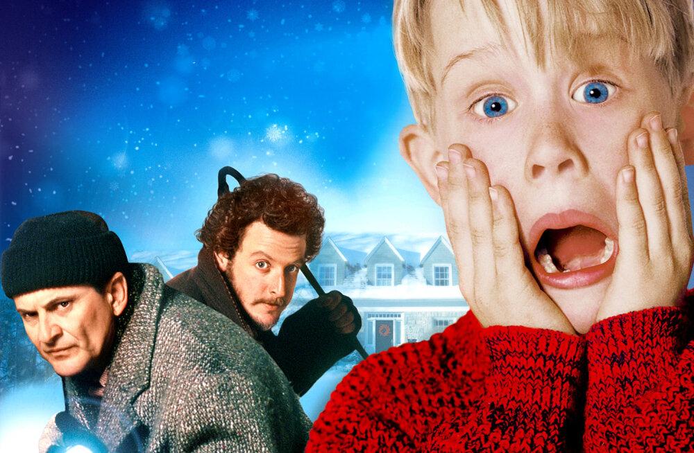 """Ja need tulevadki taas! Aeg on käes nautida """"Üksinda kodus"""" filme, mis Kevinit kehastanud Culkini siiani fännide eest peitu ajab!"""