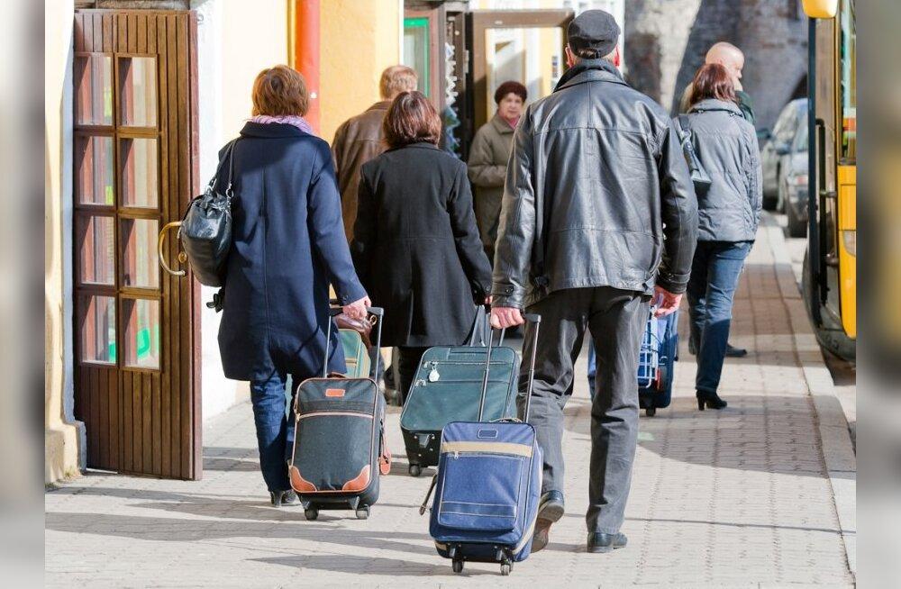 Таллинн посетило в полтора раза больше российских туристов