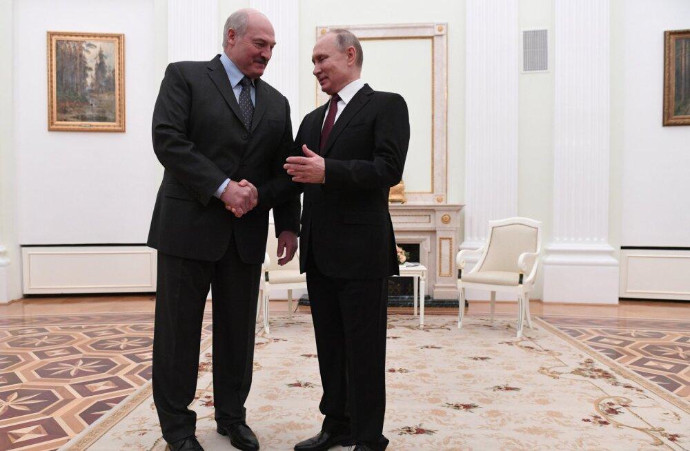 Venemaa lõi töörühma, et hakata Valgevenega kiirelt integreeruma: liitriik kõikidel tasanditel