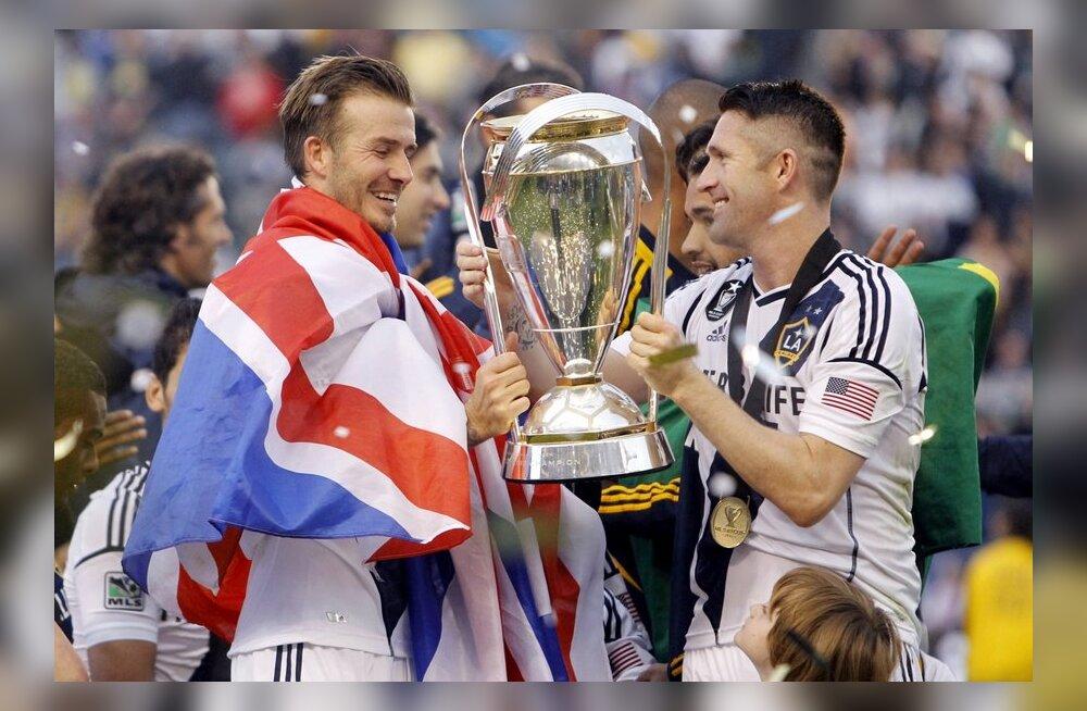 David Beckham, Robbie Keane, LA Galaxy