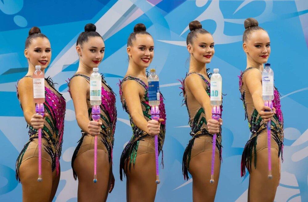 Смелые люди. Эстонские гимнастки улетают в охваченную коронавирусом Украину
