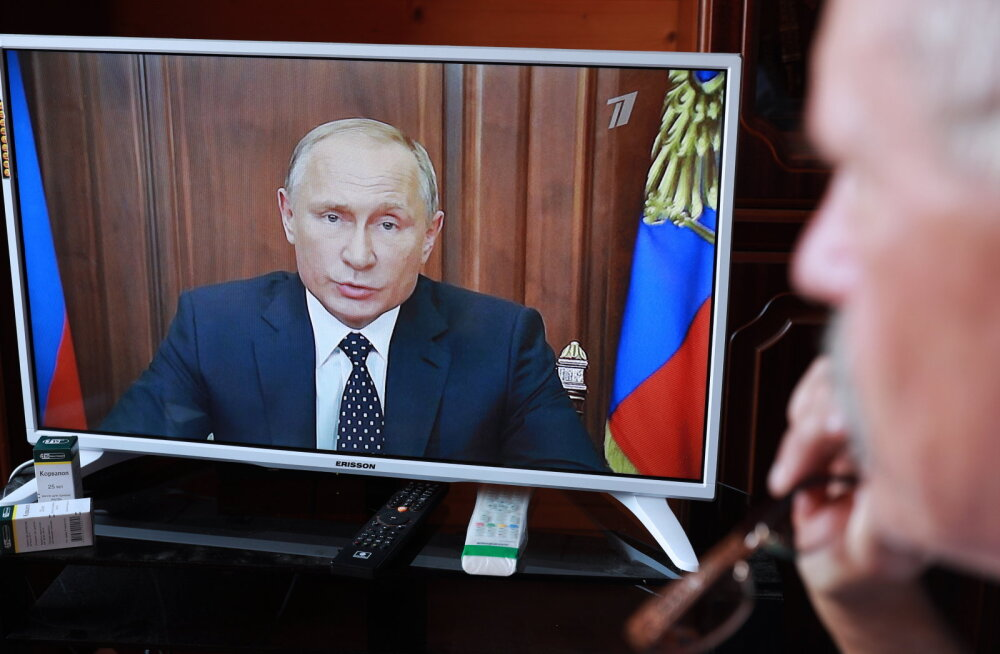 Vladimir Putin kodanikele: meil pole muud võimalust, pensioni-iga peab tõusma, aga leebemal moel