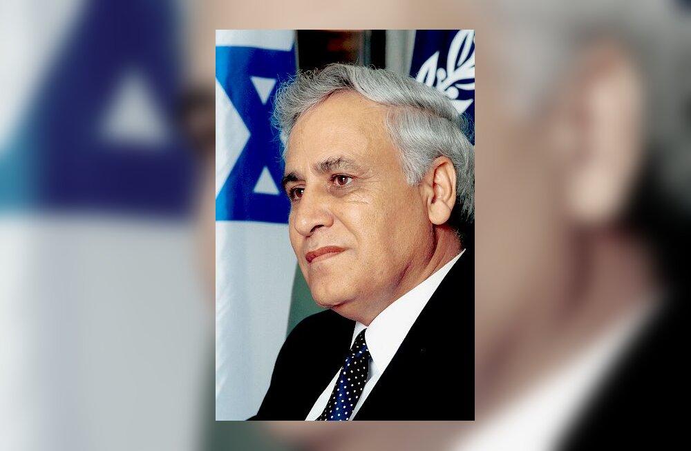 Moshe Katsav, Iisraeli president