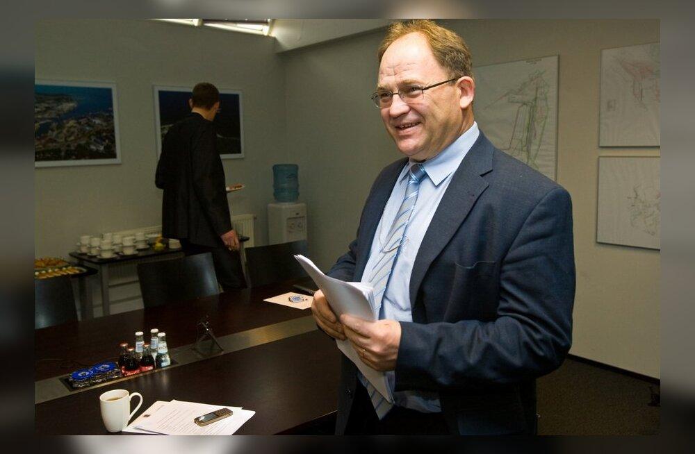 Tallinna sadama nõukogu kogunes esimeest valima.