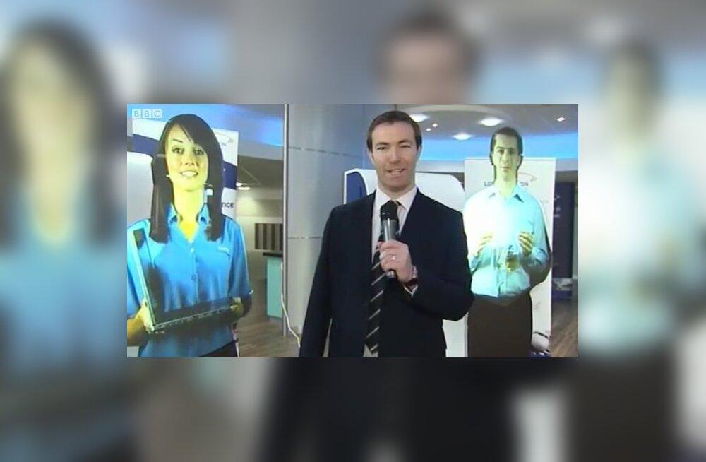 Lennujaamas on nähtud hologramme!