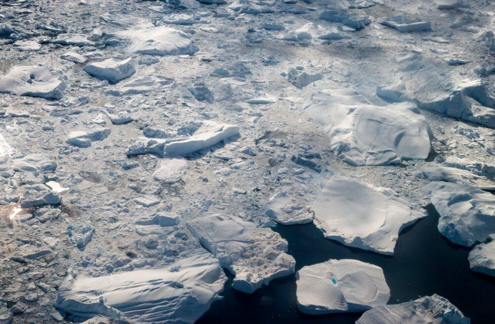 Värske uuring: jääaegade tekke võti on Antarktika merejää