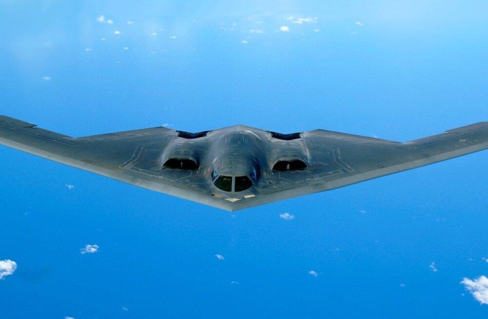DARPAs välja töötatud pommitaja B-2 Spirit