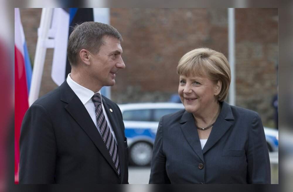 Peaminister Andrus Ansip sõidab visiidile Saksamaale