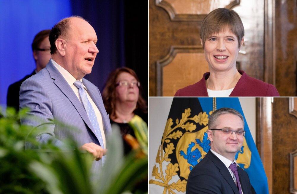 Mart Helme, Kersti Kaljulaid ja Janar Holm