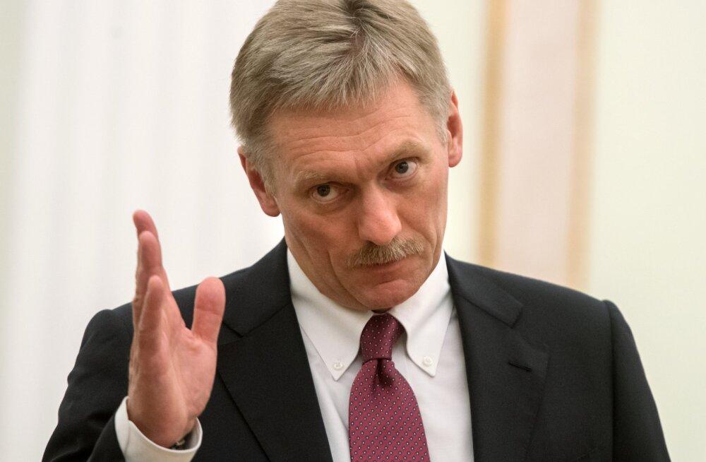 Vladimir Putini eestkõneleja Peskov: Zahhartšenko mõrvamine tähendab, et olukorra halvenemist ei saa enam vältida