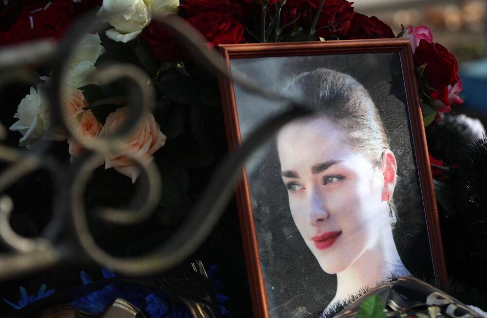 Похороны Анастасии Ещенко