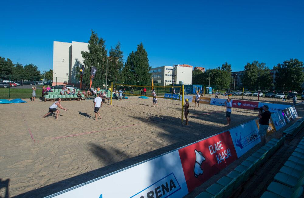 Rannavõrkpallurid Hollas ja Soomets saavutasid Lätis kolmanda koha
