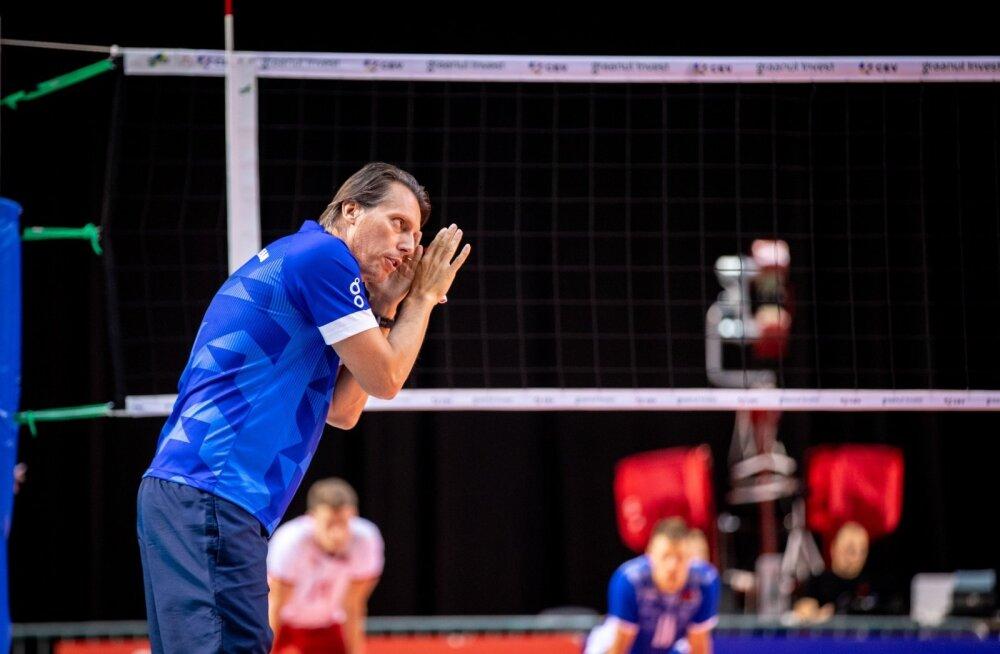 Gheorghe Crețu juhendab Eestit EM-i finaalturniiril juba kolmandat korda.