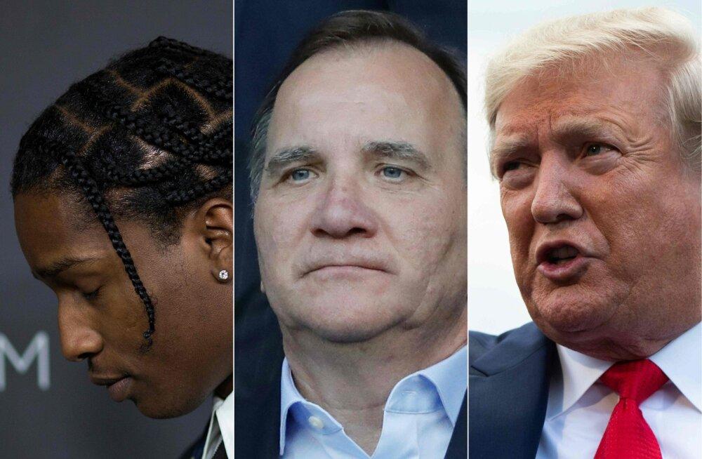 Trump nõudis Rootsilt kakluse eest vahistatud USA räppari vabastamist: Rootsi on meie afroameeriklasi alt vedanud