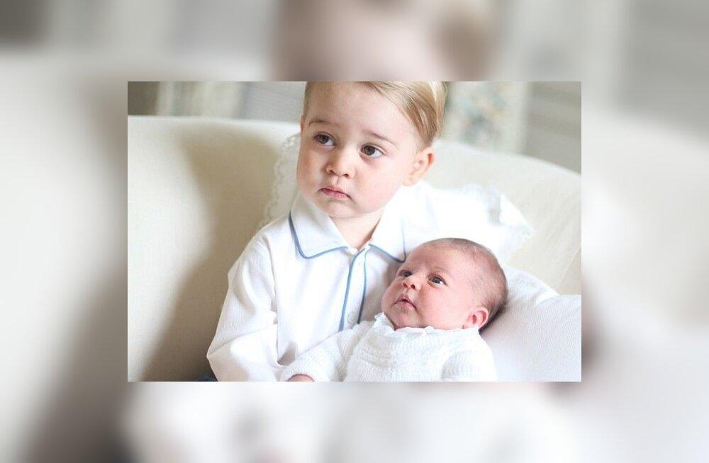 Prints George ja printsess Charlotte