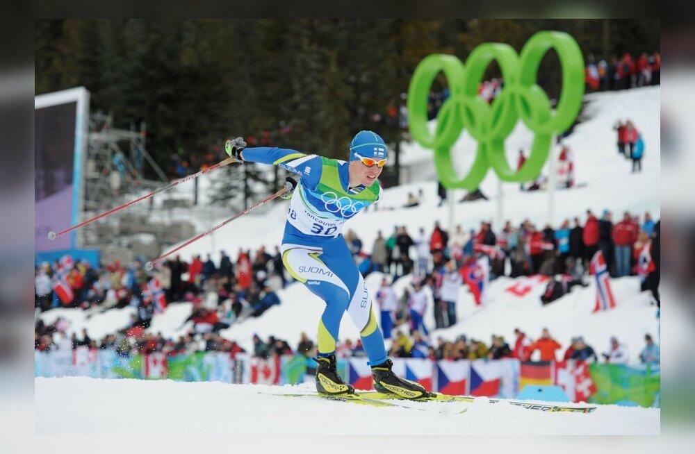 Juha Lallukka Vancouveri olümpial, murdmaasuusatamine