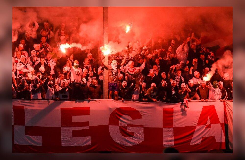 Varssavi Legiat karistati taas tühjade tribüünidega