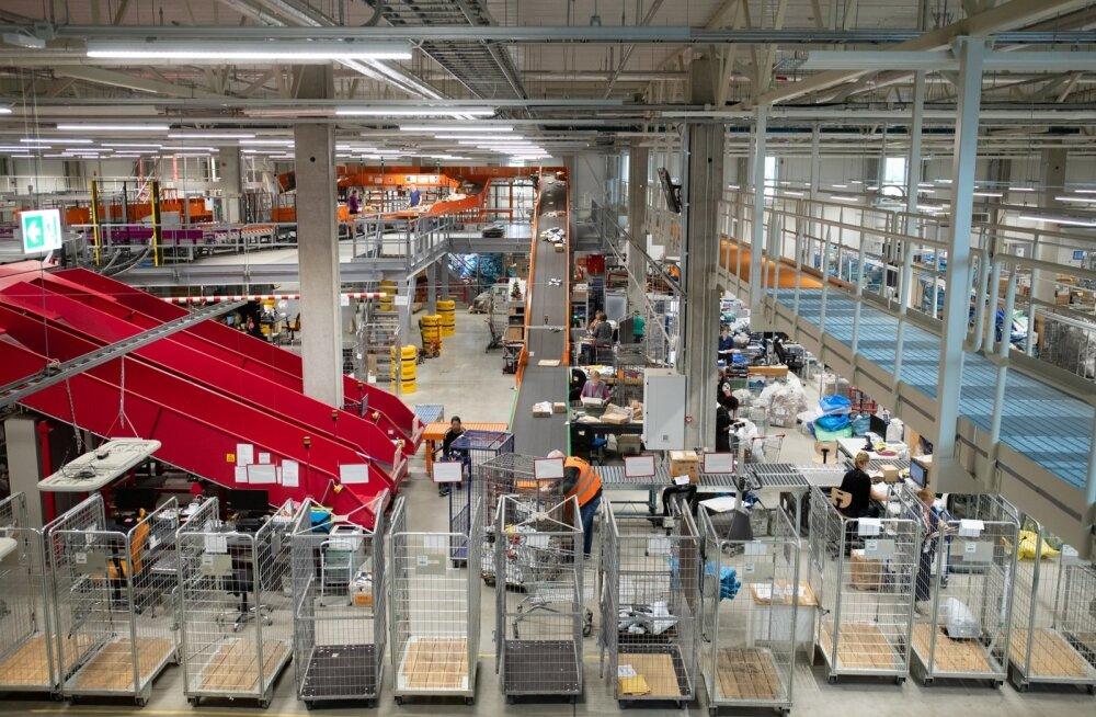 Omniva on viimase üheksa kuu jooksul palju vaeva näinud, et logistikakeskuse sorteerimisliini tööd parandada.