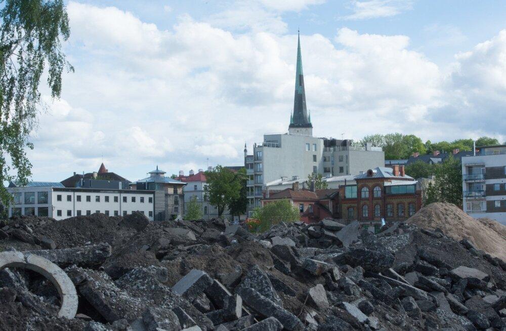 Merkoga seotud kinnisvarafirma asus Linnahalli piirkonda planeerima